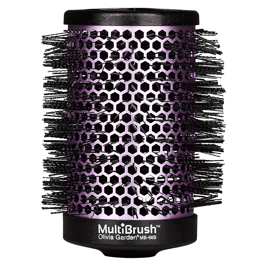 Olivia Garden MultiBrush 66/87 mm pink (ohne Griff)
