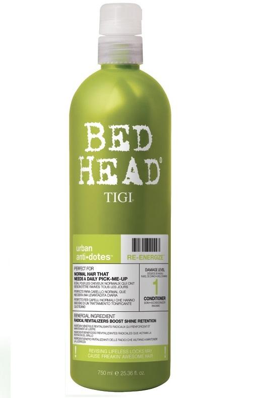 Tigi Bed Head Re-Energize Conditioner 750ml Damage Level 1
