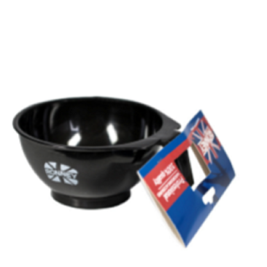 Ronney Professional Hairdressing Accessories Tinting bowl with rubber 450ml black