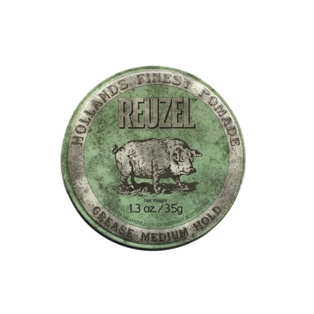 Reuzel Green Pomade Grease 35g