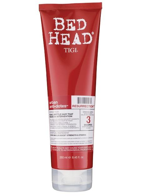 Tigi Bed Head Resurrection Shampoo 250ml Damage Level 3