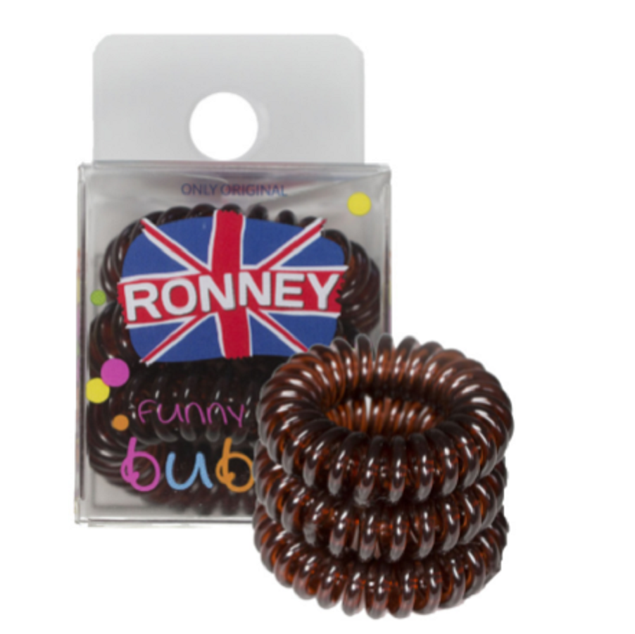 Ronney Funny Ring Bubble 3 x brown