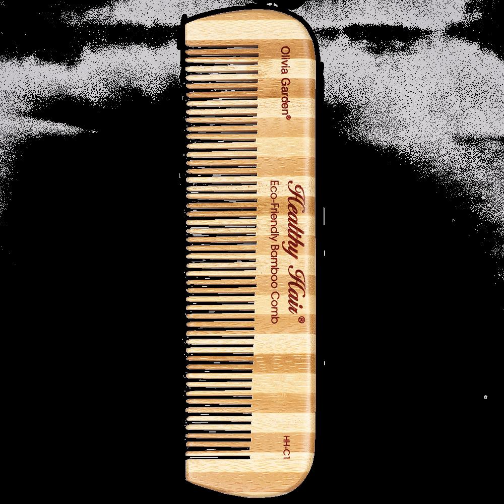 Olivia Garden Healthy Hair Bambus Taschenkamm HH-C1
