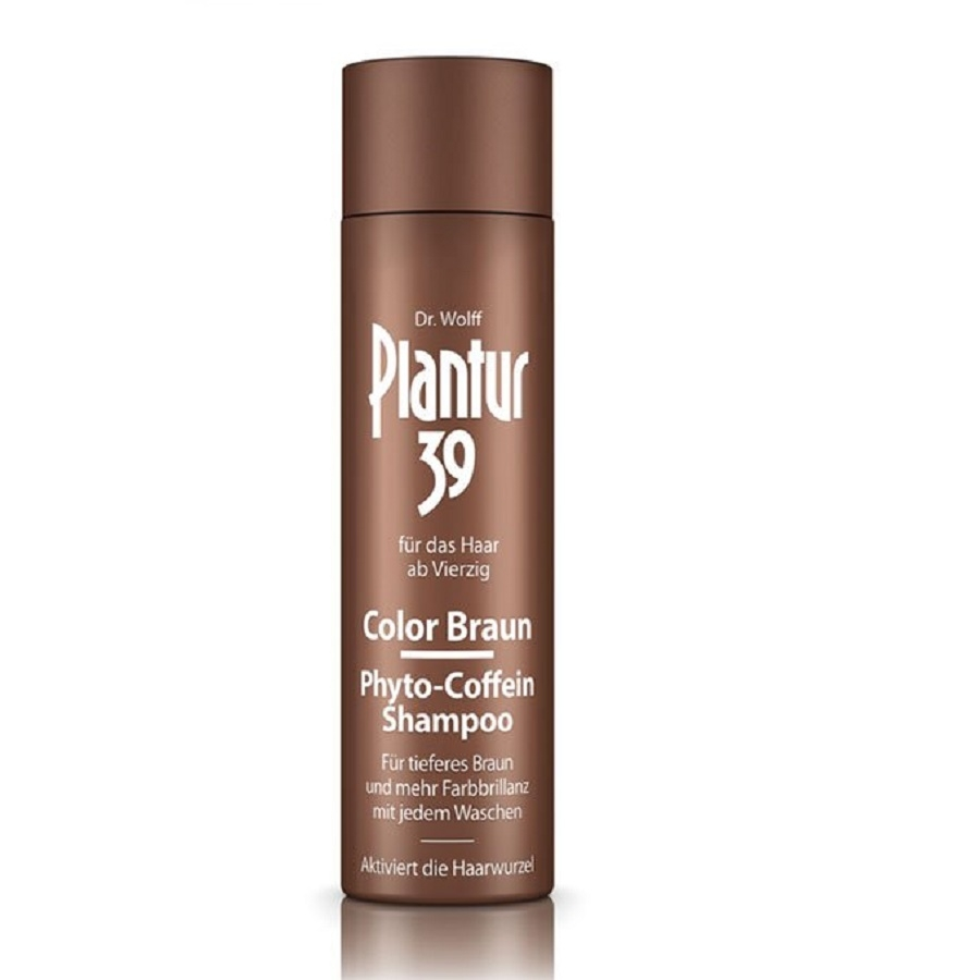 Plantur 39 Color Braun Phyto-Coffein-Shampoo 250ml