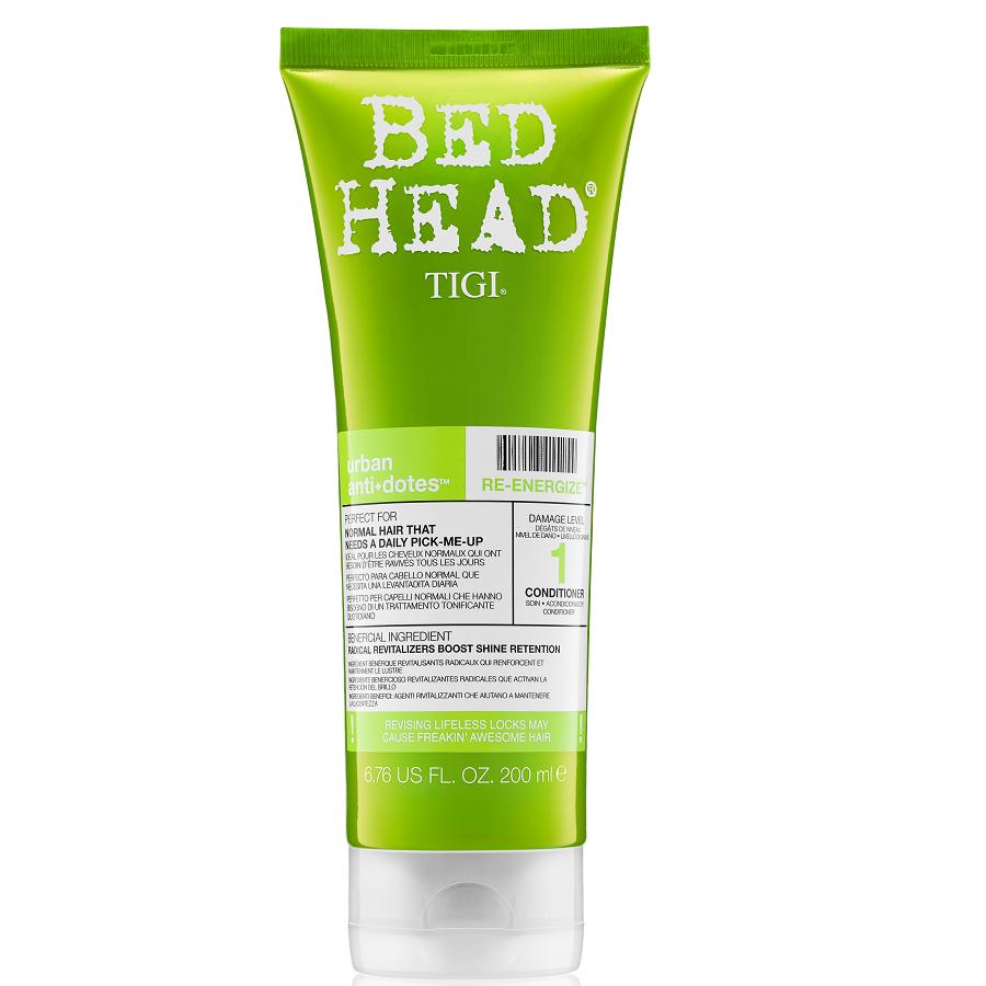 Tigi Bed Head Re-Energize Conditioner 200ml Damage Level 1 SALE