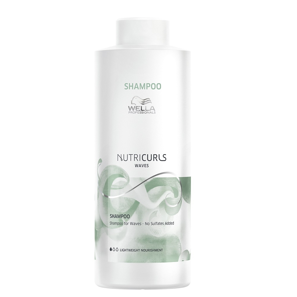 Wella Nutricurls Shampoo Waves 1000ml