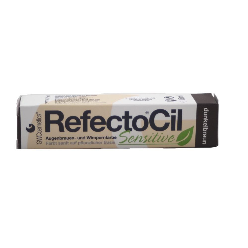 RefectoCil Sensitive Augenbrauen- & Wimpernfarbe Dunkelbraun 15ml