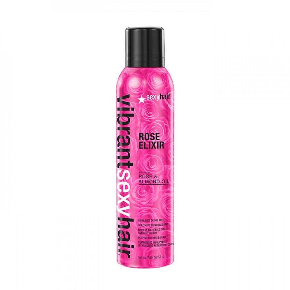 sexyhair VIBRANT Rose Elixier Hair & Body Dry Oil 150ml