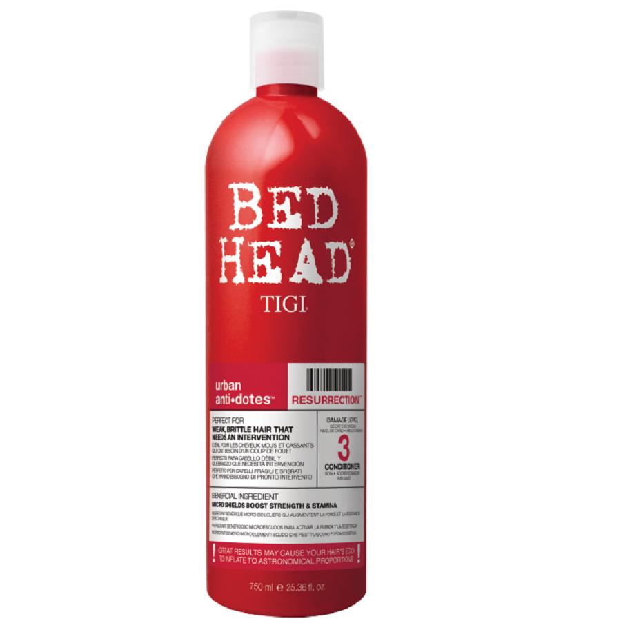 Tigi Bed Head Resurrection Conditioner 750ml Damage Level 3