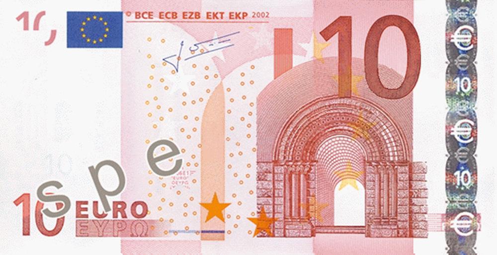 Gutschein im Wert von 10 Euro