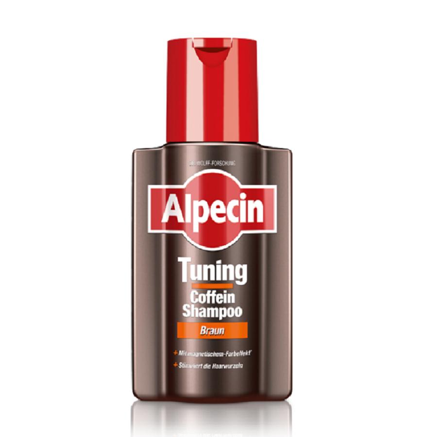 Alpecin Tuning Coffein-Shampoo Braun 200ml