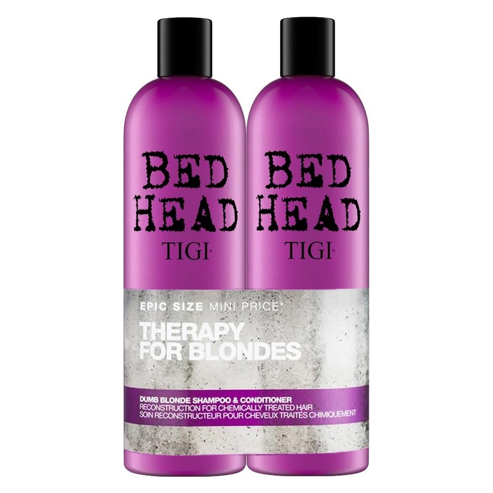 TIGI Bed Head Dumb Blonde Tween Shampoo 750ml + Conditioner 750ml