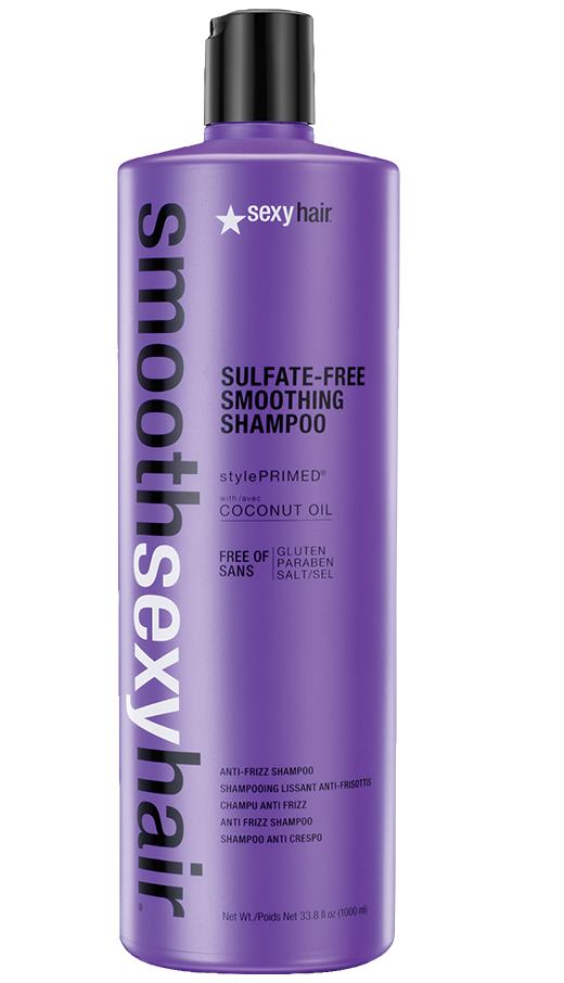 sexyhair Smooth Smoothing Anti-Frizz Shampoo Sulfate Free 1000ml