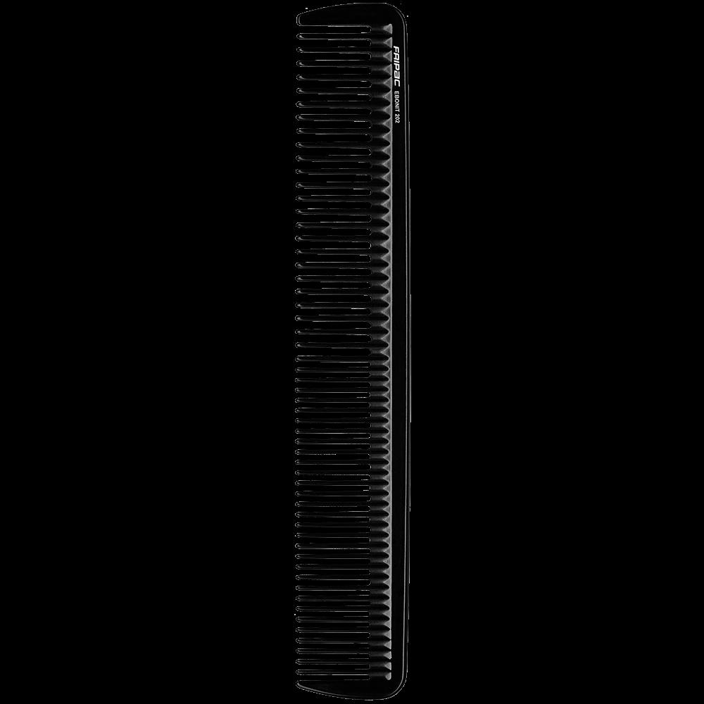 Fripac Ebonit-Styling- Haarschneidekamm 202