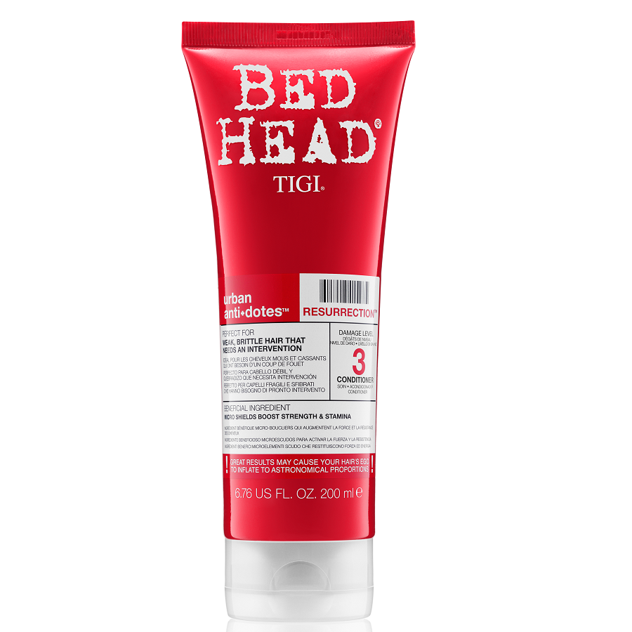 Tigi Bed Head Resurrection Conditioner 200ml Damage Level 3