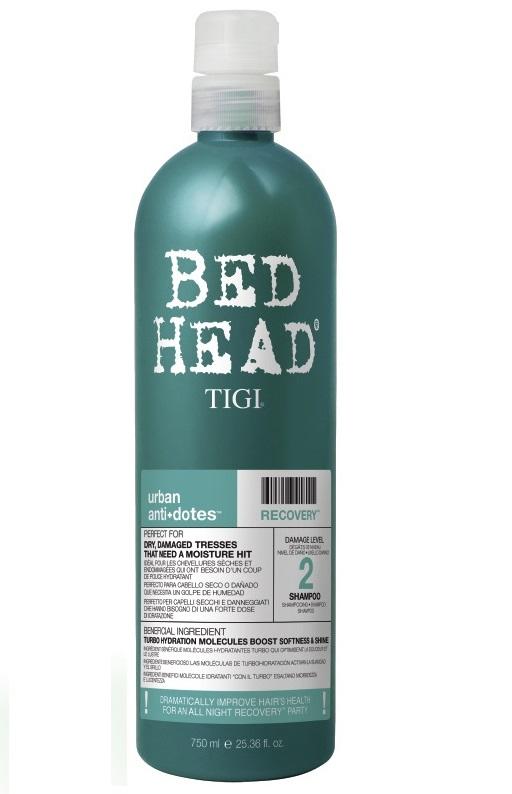 Tigi Bed Head Recovery Shampoo 750ml Damage Level 2