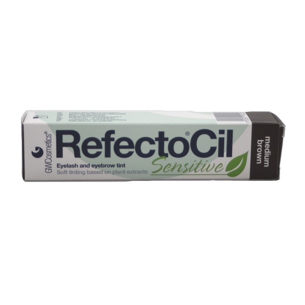 RefectoCil Sensitive Augenbrauen- & Wimpernfarbe Mittelbraun 15ml