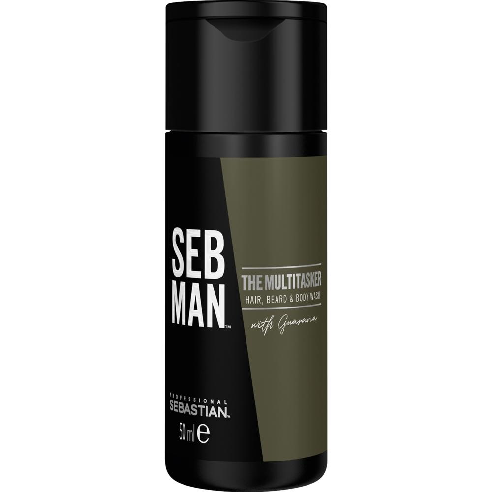 Sebastian Man The Multitasker 3in1 Hair, Beard & Body Wash 50ml
