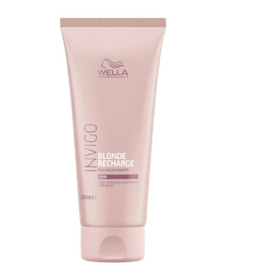 Wella Invigo Blonde Recharge Cool Blonde Color Refreshing Conditioner 200ml