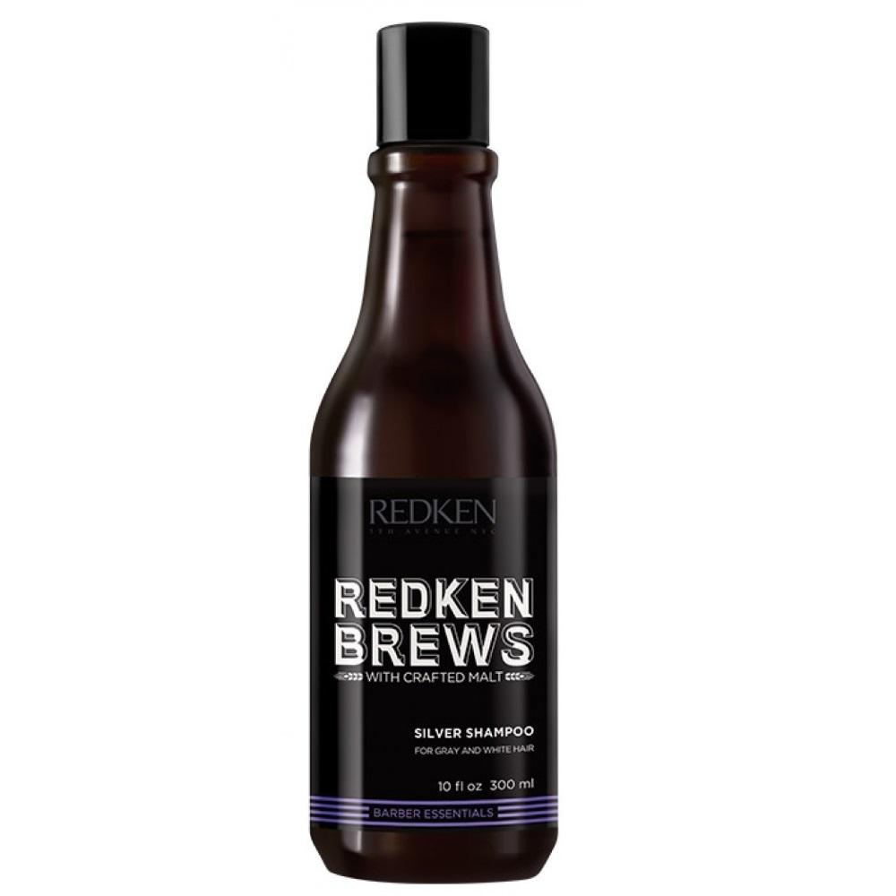 Redken Brews Silver Charge Shampoo 300ml SALE