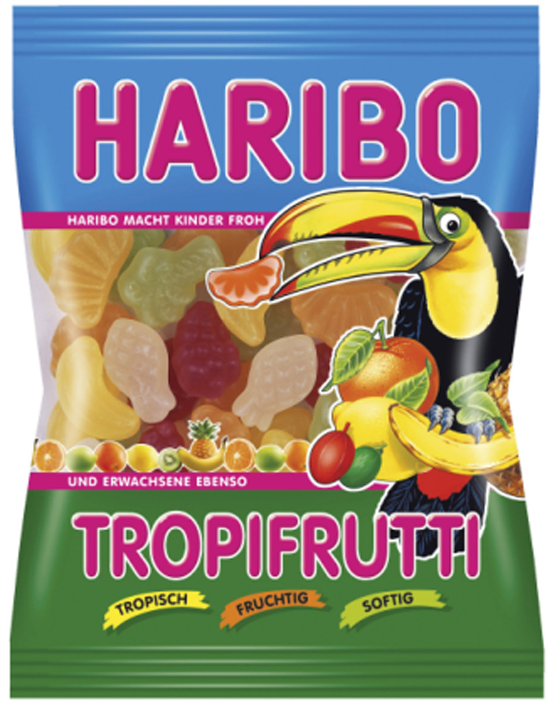 Haribo Tropi Frutti - Gummibärchen