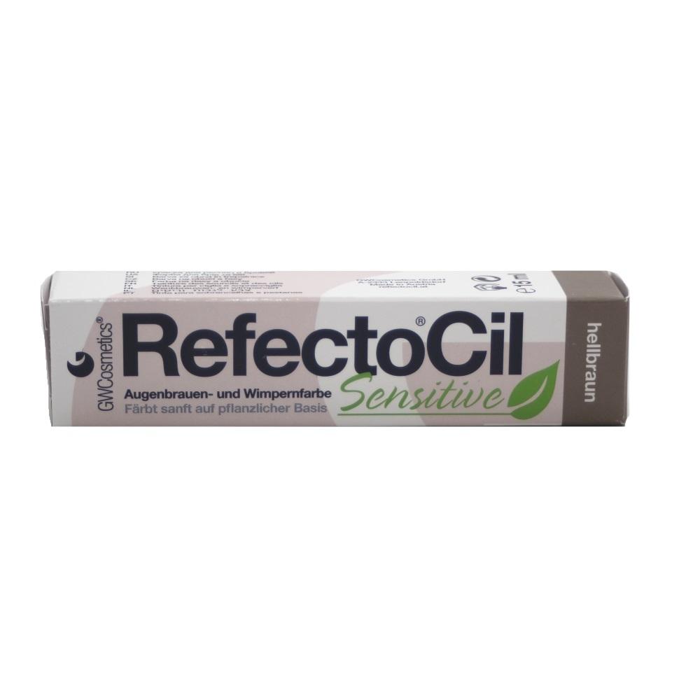 RefectoCil Sensitive Augenbrauen- & Wimpernfarbe Hellbraun 15ml