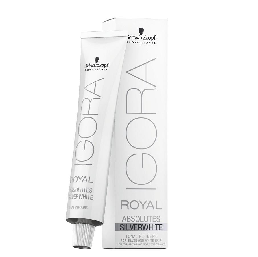 Schwarzkopf Igora Royal Absolutes Silverwhite 60ml Silber