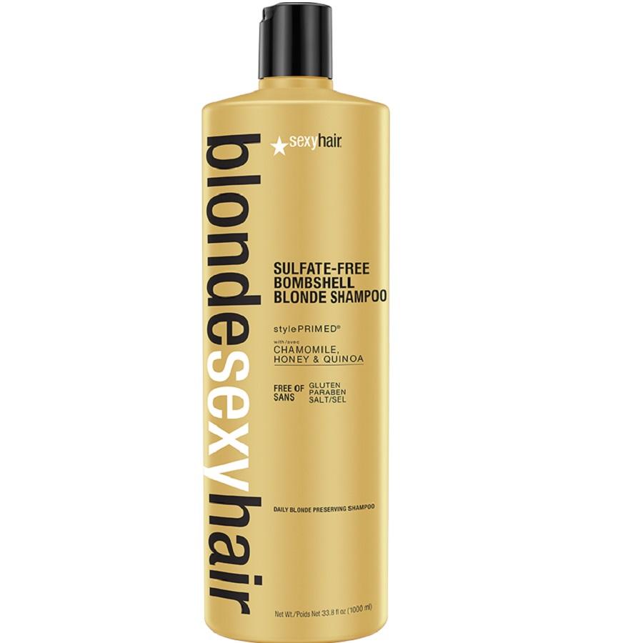 sexyhair BLONDE Bombshell Shampoo 1000ml