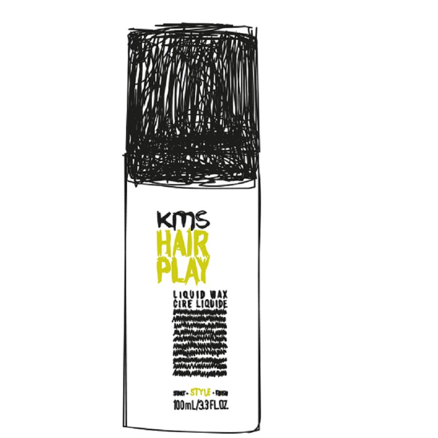 KMS Hairplay Liquid Wax 100ml