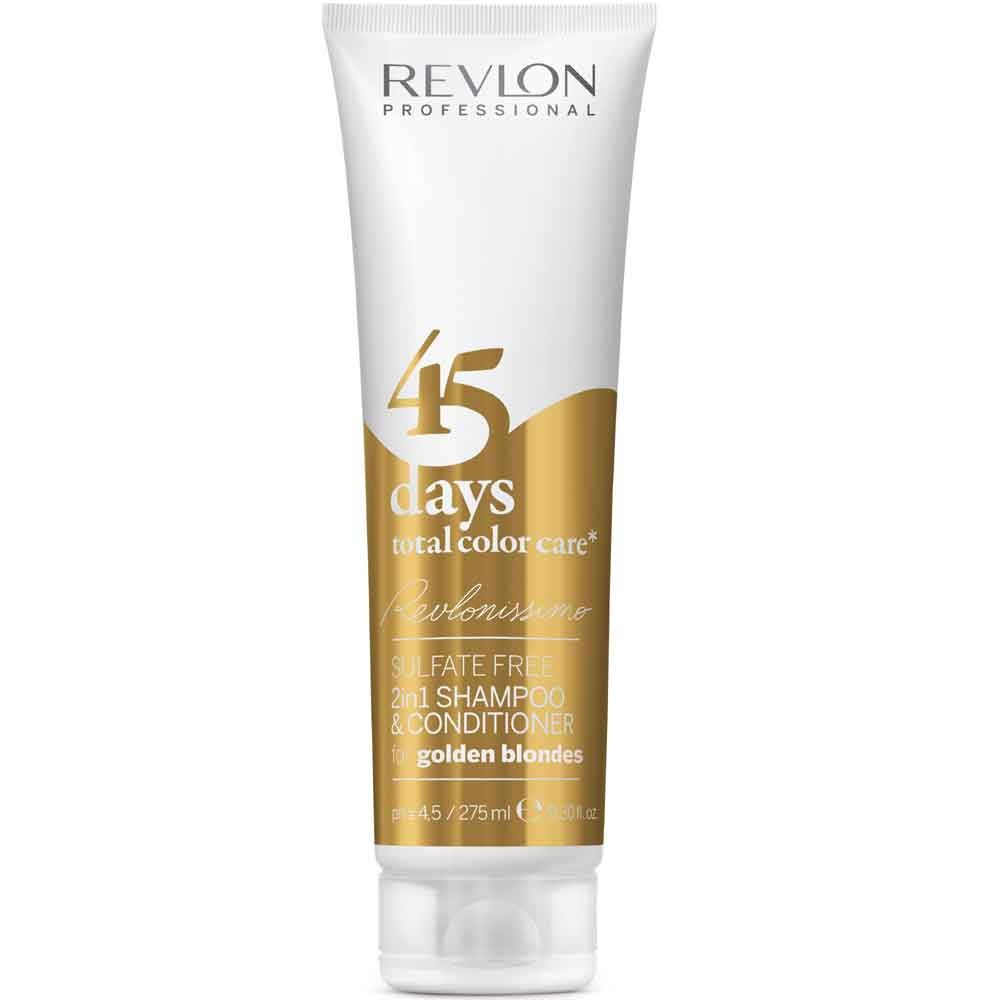 Revlonissimo 45 Days Golden Blondes 2in1 Shampoo & Conditioner 275ml