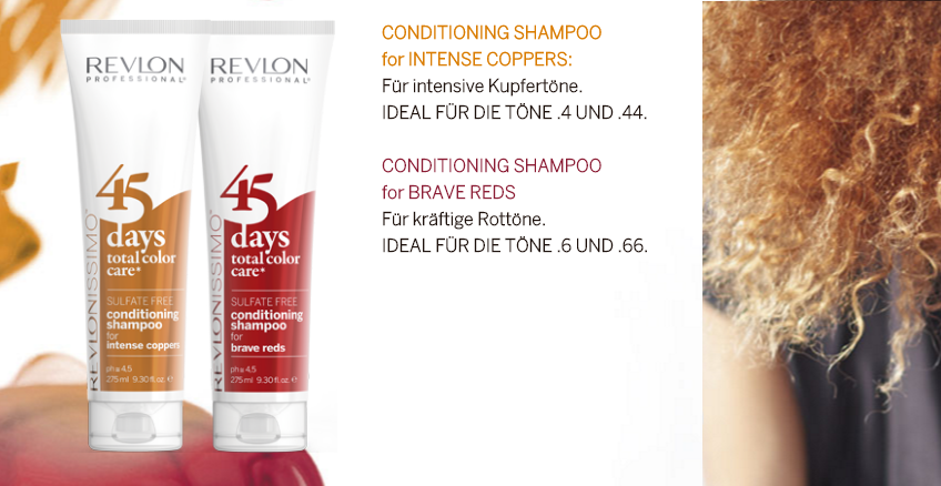 Revlonissimo 45 Days Intense Coppers 2in1 Shampoo & Conditioner 275ml