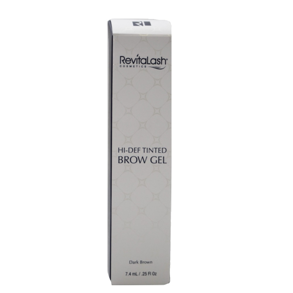 RevitaLash Advanced Hi-Def Tinted Brow Gel Dark Brown 7.4ml SALE