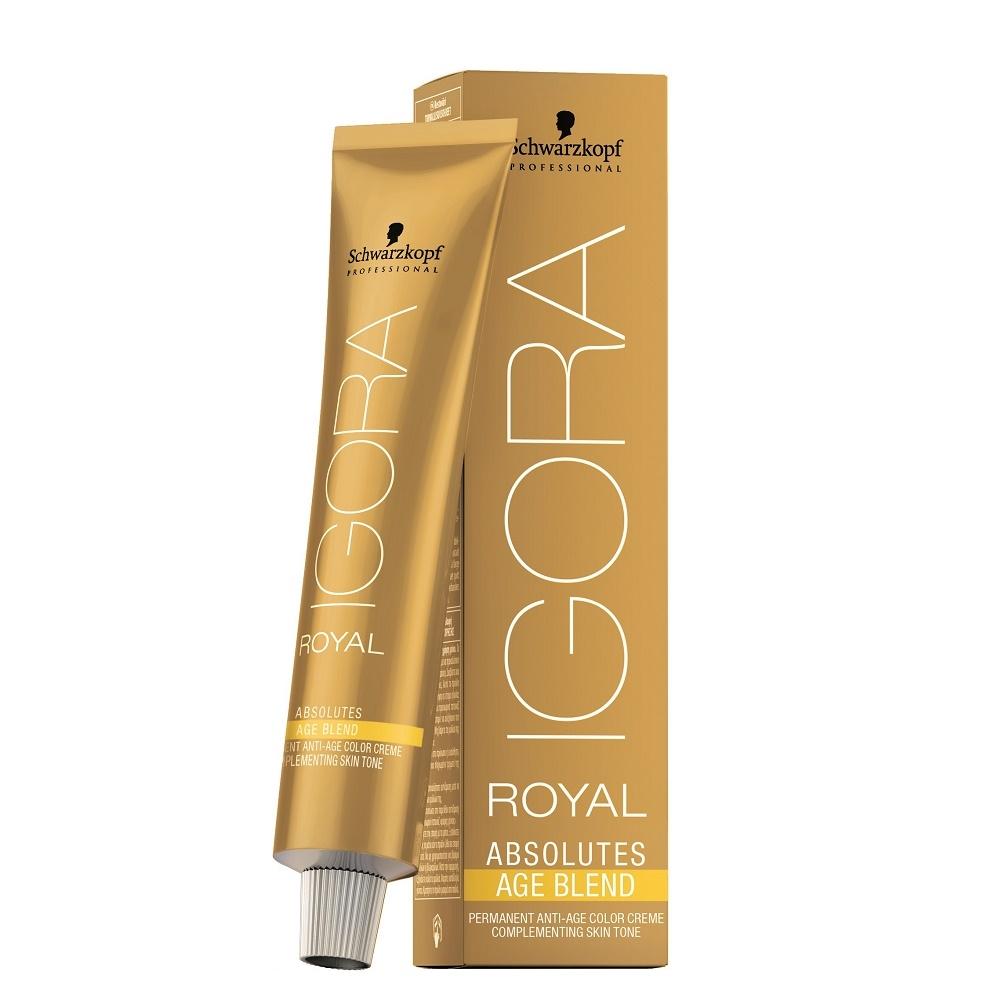 Schwarzkopf Igora Royal Absolutes Age Blend 60ml 7-450 Mittelblond Beige Gold